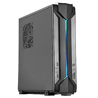 Silverstone Raven RVZ03B Mini-ITX HTPC Case - Black (SST-RVZ03B)