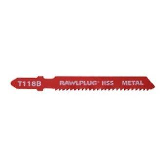 Metal Fine Pack 5 için Rawlplug Yapboz Bıçakları
