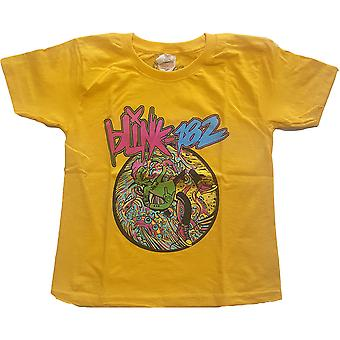 Blink-182 - Overboard Event Kids 7 - 8 Years T-Shirt - Jaune