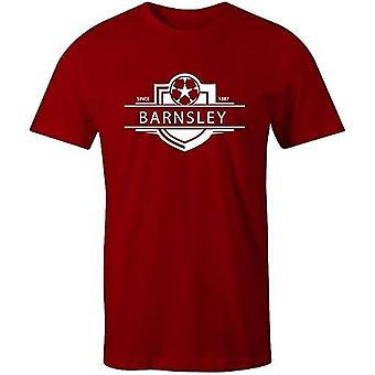Sporting empire barnsley 1887 established badge football t-shirt