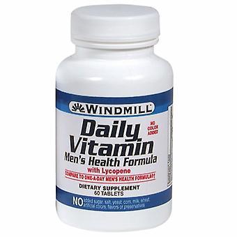 Windmill Health Daily Vitamin Mens Formula, 60 Tabs