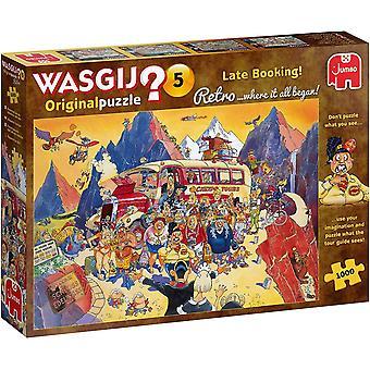 Wasgij Retro Original 5 Late Booking! Jigsaw Puzzle (1000 pieces)