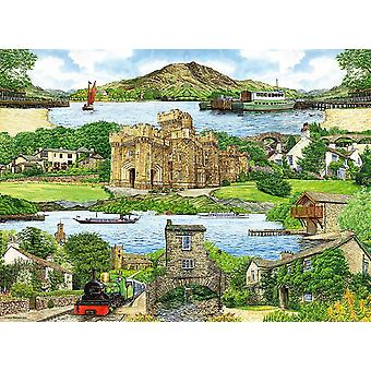 Ravensburger Escape to The Lake District Jigsaw Puzzle (500 Pieces)