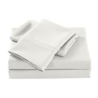 Bamboo Cooling Sheet Set Ultra Soft Bedding Natural