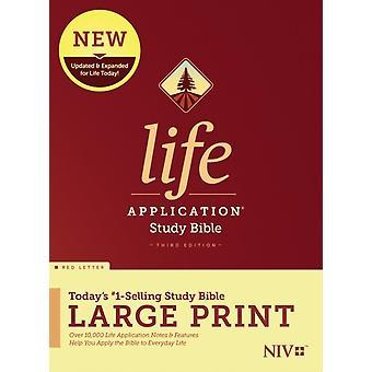 NIV الحياة تطبيق دراسة الكتاب المقدس الطبعة الثالثة طباعة كبيرة من قبل تحريرها من قبل Tyndale
