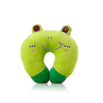 Neck Protection Cute Travel Pillow(Green)