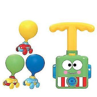 Bord joc surpriză lansare balon Crayon Shin-chan aerodinamic masina copii suflare balon jucărie