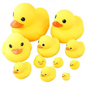 Little Yellow Duck Bathing Toy Squeaks