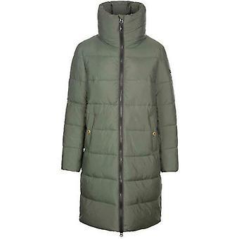 Ladies Trespass Faith Padded Long Length Jacket