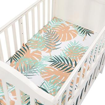 Cotton Baby Fitted Sheet Cartoon Crib Mattress Protector Bed Sheets