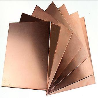 Diy materiaali punainen kupari folio levy