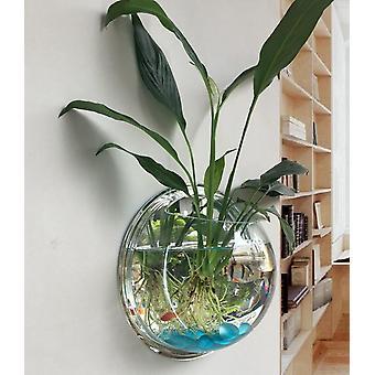 תלוי על קיר רכוב קערת דגים Aquaponic טנק טריום פרח אגרטל קישוט נוף הביתה