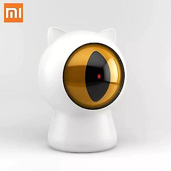 Cat toys xiaomi laser red dot pet cats teaser toy usb rechargeable smart cats interactive companion toy
