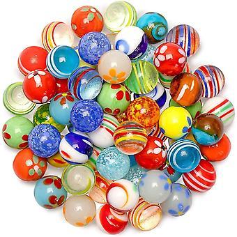 Mramorová dráha nastaví ucradle sklenené mramory 30ks umenie farebné hrané sklenené mramorové gule pre klasické detské mramory hra