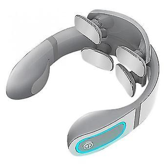 Thermostat chauffant intelligent de massage du cou à 4 têtes