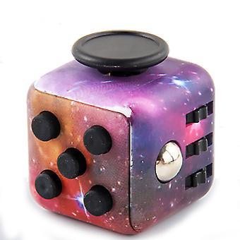 Mimigo 2ks 6 strany Fidget Toys Cube zmierňuje stres a úzkosť kocka pre deti a dospelých pre pridanie, ADHD, Ocd