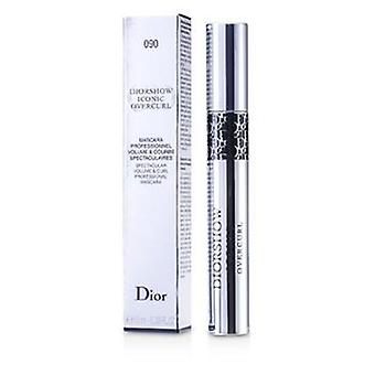Christian Dior Diorshow Iconic Overcurl Mascara - # 090 Over Black - 10ml/0.33oz