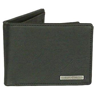 Rip Curl Wallet with CC, note and Coin ~ Rockered black