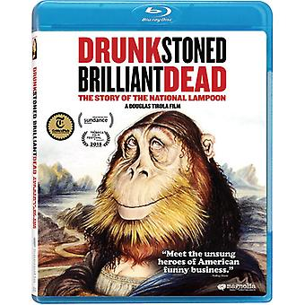 Drunk Stoned Brilliant Dead: The Story of the [Blu-ray] USA import