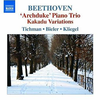 L.V. Beethoven - Beethoven: Trios, Vol. 5 [CD] USA import
