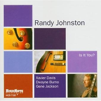Randy Johnston - Is It You? [CD] USA import