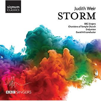 Weir / BBC Singers / Endymion - Storm [CD] USA import