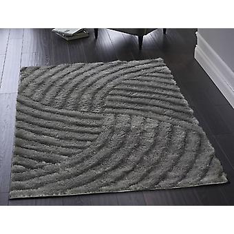Dallas Charcoal  Rectangle Rugs Plain/Nearly Plain Rugs