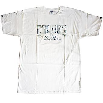 Bandidos & castelos moeda Core t-shirt branca