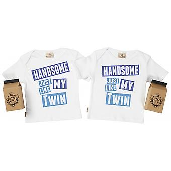 Viziati marcio bello come mio Twin Baby t-shirt
