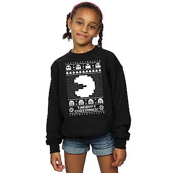 Pacman Girls Christmas Fair Isle Sweatshirt