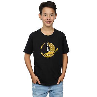 Looney Tunes Boys Daffy Duck punktiert Profil T-Shirt