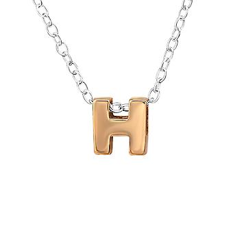H - 925 Sterling Silver Plain Necklaces - W31030x