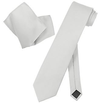 Vesuvio Napoli pevná EXTRA dlouhá NeckTie kapesník krční kravata set