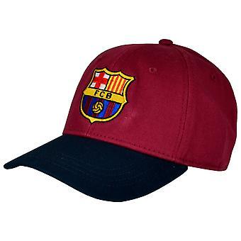 FC Barcelona Official Football Crest Design Baseball Cap