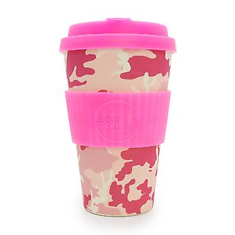 Ecoffee coupe Miss Wasilla avec Silicone rose chaud 14oz
