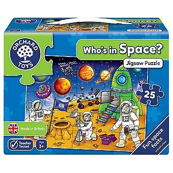 Juguetes de huerta que en rompecabezas del espacio