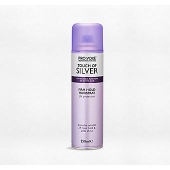 Pro:voke Touch of Silver Ultra Firm Hairspray