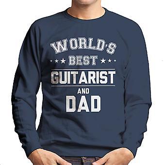 Worlds Best Guitarist And Dad Men's Sweatshirt