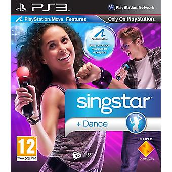 SingStar Dance - Move Compatible (PS3) - Uusi