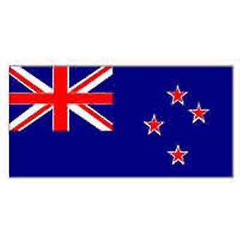Nieuw-Zeeland vlag 5 ft x 3 ft met oogjes voor verkeerd-om