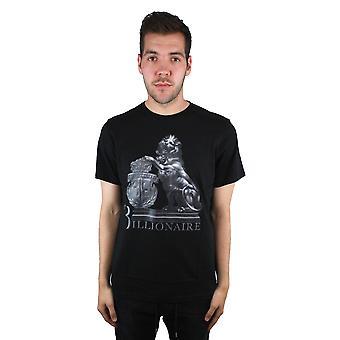 "Billionaire ""037"" MTK0450 X999 Black T-Shirt"
