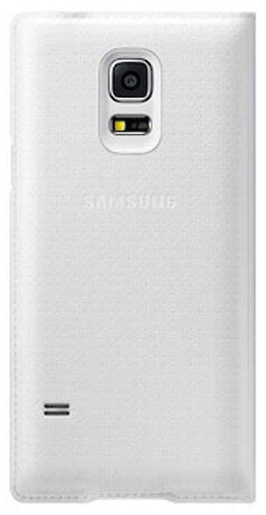 Samsung EF-WG900BHEG flip Wallet case for Galaxy S5 in pattern white