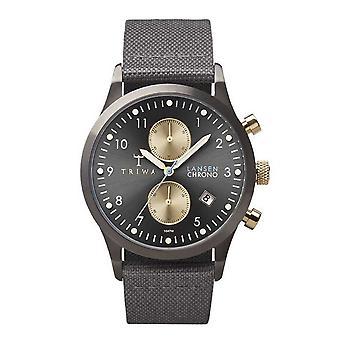 Triwa Unisex Watch wristwatch LCST101-CL061613 Walter Lansen Chrono leather