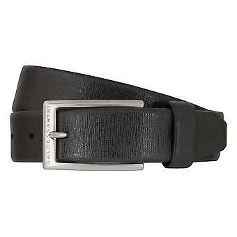 Cuir de ceinture BALDESSARINI ceintures ceintures Cuir gris homme 6496