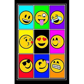Emojis - José Charron Poster Print