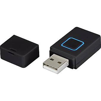 Renkforce USB 2,0 adaptér [1x USB 2,0 konektor A-1x USB 2,0 port A]