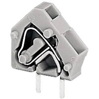 WAGO Openspringende terminal 2,50 mm² aantal pinnen 1 grijs 1 PC('s)