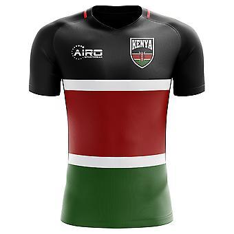 2020-2021 كينيا مفهوم المنزل لكرة القدم قميص (أطفال)