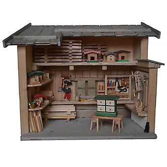 Workshop carpentry shop for Nativity stable Nativity accessories