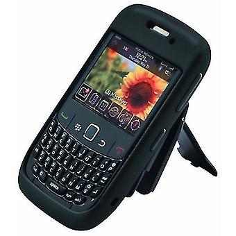 Body Glove - Silicone Case for BlackBerry 8500, Curve 8530, 9300, 9330 - Black